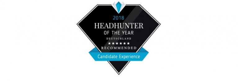 Headhunter of the Year-Award 2018
